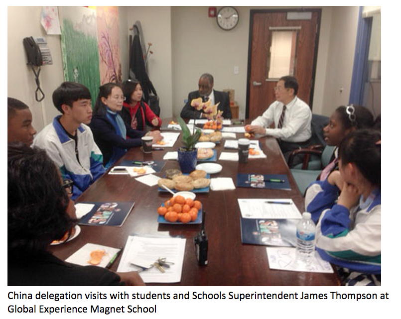 Click the image to read about GEMS Magnet School's partnership with China.